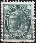 Sellos de America - Canadá -  VICTORIA
