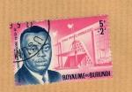 Stamps Africa - Burundi -  Principe Louis Rwagasore (Estadio)