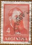 Sellos de America - Argentina -  JOSE HERNANDEZ