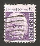 Sellos de America - Estados Unidos -  albert einstein