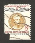 Stamps United States -  general jose de san martín