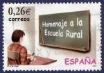 Stamps Spain -  Edifil 3978 Homenaje a la escuela rural 0,26