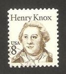 Sellos de America - Estados Unidos -  General Henry Knox