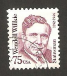 Stamps United States -  wendell willkie, hombre de estado