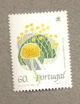 Sellos de Europa - Portugal -  Santolina impressa