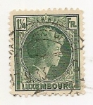 Stamps Luxembourg -  Grand Duchess Charlotte