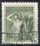 Stamps Czechoslovakia -  Agricultura.