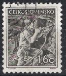 Sellos de Europa - Checoslovaquia -  Minería. 1