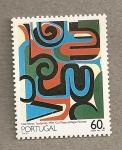 Sellos de Europa - Portugal -  Pintura abstracta