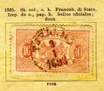 Sellos de Europa - Suecia -  Edicion 1885