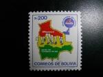 Sellos de America - Bolivia -  Fiesta mundial del calzado