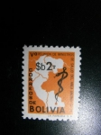 Sellos del Mundo : America : Bolivia : V Reunion de ministros de salud del area Andina
