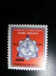 Stamps : America : Bolivia :  Año internacional de la formacion profesional