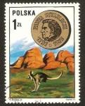Sellos del Mundo : Europa : Polonia : pavet strzelecki, explorador