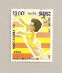 Sellos de Asia - Camboya -  Juegos Olimpicos : Barcelona 1992
