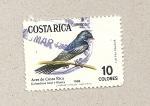 Stamps Costa Rica -  Aves de Costa Rica: Golondrina azul