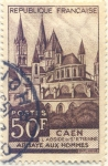 Stamps Europe - France -  CAEN ABBAYE AUX HOMMES