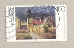 Stamps Germany -  Franz Radziwill