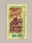 Stamps Brazil -  IV Centenario rio Janeiro