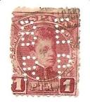 Stamps Spain -  Rey Alfonzo XIII