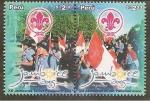 Stamps Peru -  XII Jamboree Scout Panamericano