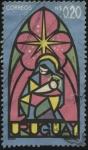 Sellos de America - Uruguay -  Navidad. María y el niño Jesús.