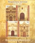 Stamps Peru -  Arquitectura Virreinal   Siglos XVII - XVIII