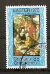 Sellos de America - Granada -  Pascua / Pinturas