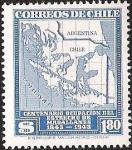 Sellos de America - Chile -  CENTENARIO OCUPACION DEL ESTRECHO DE MAGALLANES
