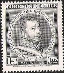 Stamps America - Chile -  CENTENARIO OCUPACION DEL ESTRECHO DE MAGALLANES - MANUEL BULNES
