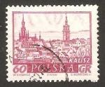 Stamps : Europe : Poland :  vista de la ciudad de kalisz