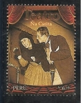 Stamps of the world : Peru :  Ballet y Teatro Peruano Ña Catita