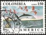 Sellos del Mundo : America : Colombia : EL MEDIO NATURAL QUE VIERON LOS DESCUBRIDORES