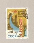 Stamps Russia -  Helicópeto pulverizando cultivos