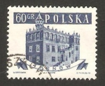 Sellos del Mundo : Europa : Polonia : edificio de la ciudad de tarnow
