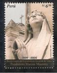 Stamps Peru -  Bicentenario del Cementerio General de Lima Prebítero Matías Maestro 1808 - 2008