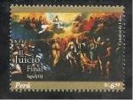 Stamps Peru -  El Juicio Final