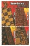 Stamps : America : Peru :  Mantos Paracas