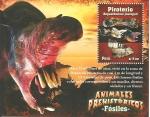 Stamps America - Peru -  Animales Prehistóricos - Fósiles
