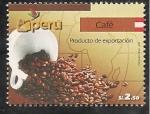 Sellos de America - Perú -  Café Producto de Exportación