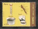 Sellos del Mundo : America : Perú : Culturas Peruanas - Chimu