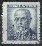 Stamps Czechoslovakia -  Tomas Masarik