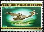Stamps Colombia -  Historia de la Aviacion Colombiana.