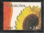 Stamps Peru -  Girasoles