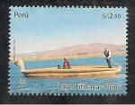 Stamps Peru -  Lago Titicaca Puno