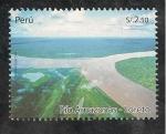 Sellos de America - Perú -  Río Amazonas - Loreto
