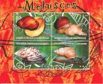 Stamps of the world : Peru :  Moluscos