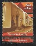 Stamps Peru -  Museo Nacional de Arqueología, Antropología e Historia del Perú