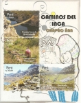 Sellos del Mundo : America : Perú : Caminos del Inca - Qhapaq Ñan