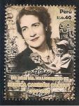Stamps Peru -  50 Años del Fallecimiento de Rebeca Carrión Cachot 1960 - 2010